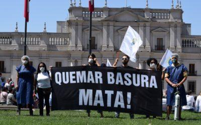 Unión contra la Incineración Chile se articula para hacer frente a dañina tecnología