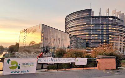 El Parlamento Europeo toma posición histórica contra la contaminación por plásticos de un solo uso