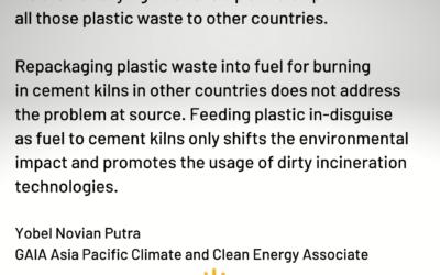 International groups condemn Australia's stealthy waste export plans