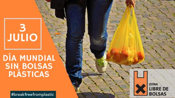 Día Sin Bolsas Plásticas 2018, una oportunidad para desechar un mal hábito