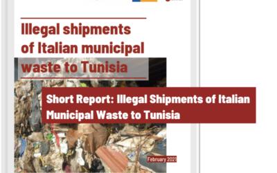 Illegal Shipments of Italian Municipal Waste to Tunisia