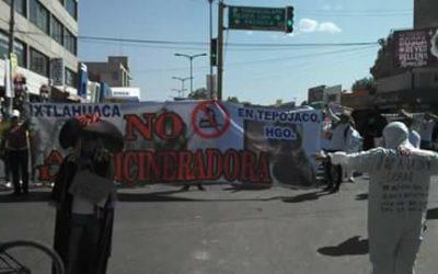 Importante victoria de una comunidad contra incineradora en México