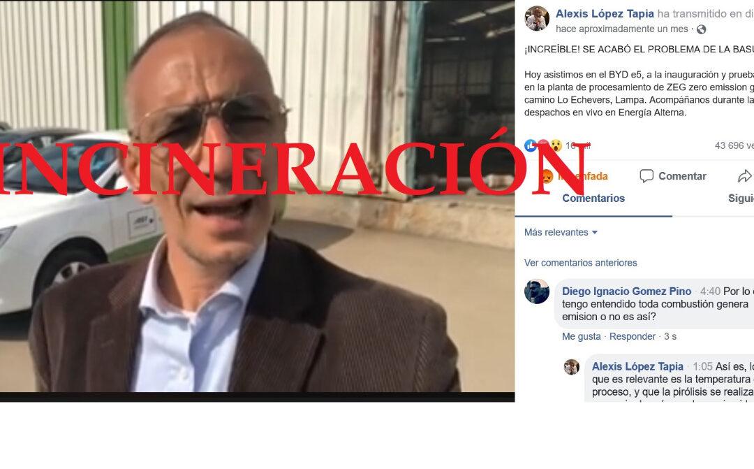 Alianza Basura Cero Chile: Aclaración pública sobre tecnología ZEG