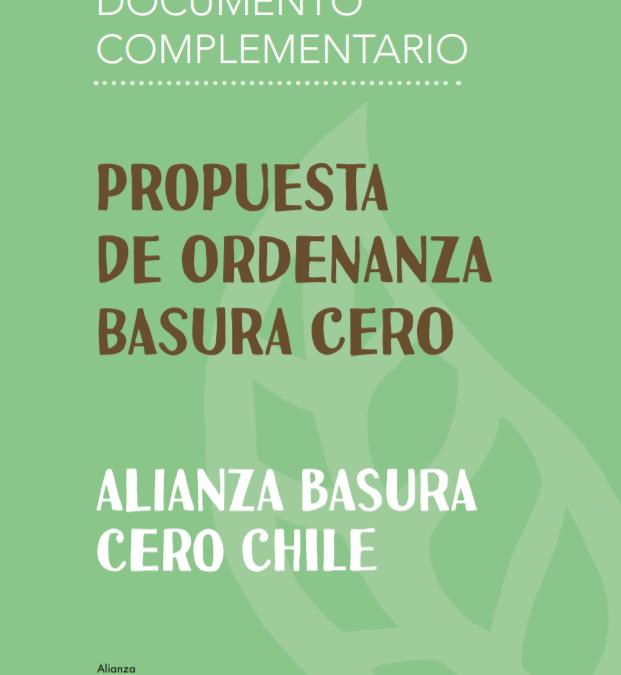 """Alianza Basura Cero Chile llega a más de 120 municipalidades, personas naturales y organizaciones en el marco de proyecto """"Propuesta de Ordenanza Basura Cero"""""""