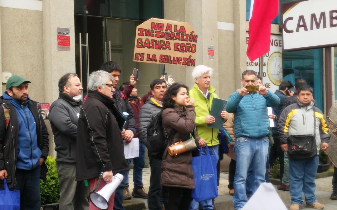Compañera chilena de GAIA llevará testimonio a reunión de UNEA