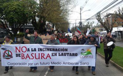 Fuerte rechazo a incineradora en Temuco moviliza a la ciudadanía