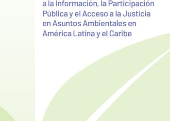 Acuerdo de Escazú: Avanzando hacia la integración de América Latina para construir una región ambiental y socialmente segura