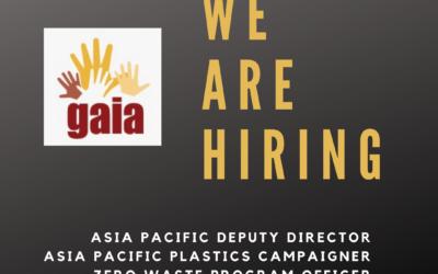 GAIA Asia Pacific is hiring